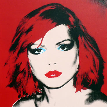 Blondie (after Warhol)