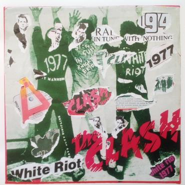 The Clash - White Riot Decollage