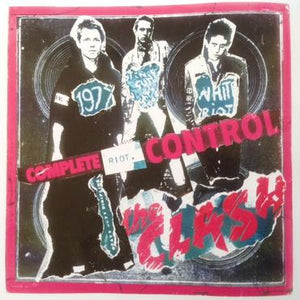 The Clash - Complete Riot Control Decollage