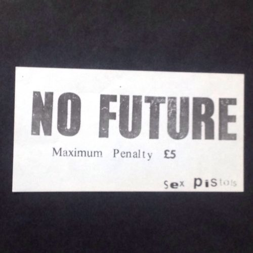 No Future Maximum Penalty £5