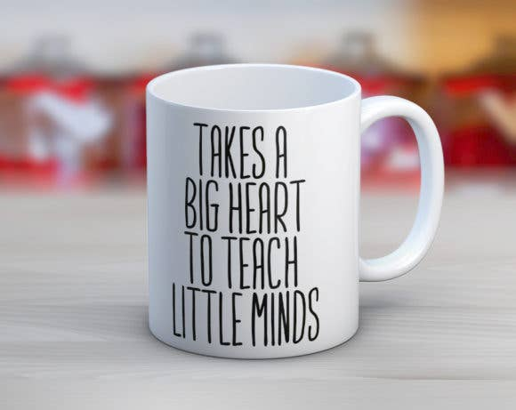 TAKES A BIG HEART MUG