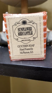 TOASTED PUMPKIN SPICE GLYCERIN SOAP