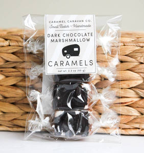 DARK CHOCOLATE MARSHMALLOW CARAMEL