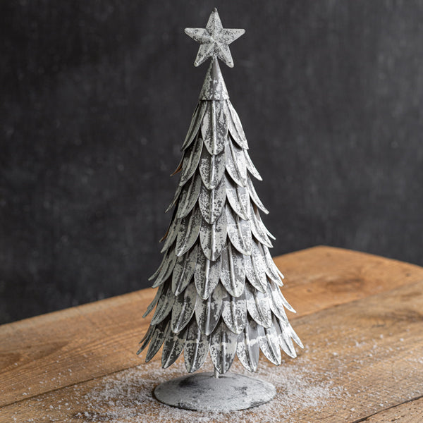 LARGE METAL CHRISTMAS TREE