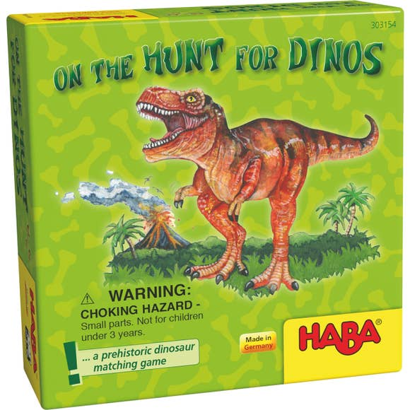 ON THE HUNT FOR DINOS GAME