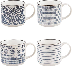 DENIM BLUE MUGS