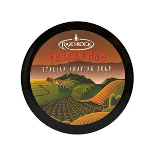 RAZOROCK TUSCAN OUD SHAVING CREAM SOAP