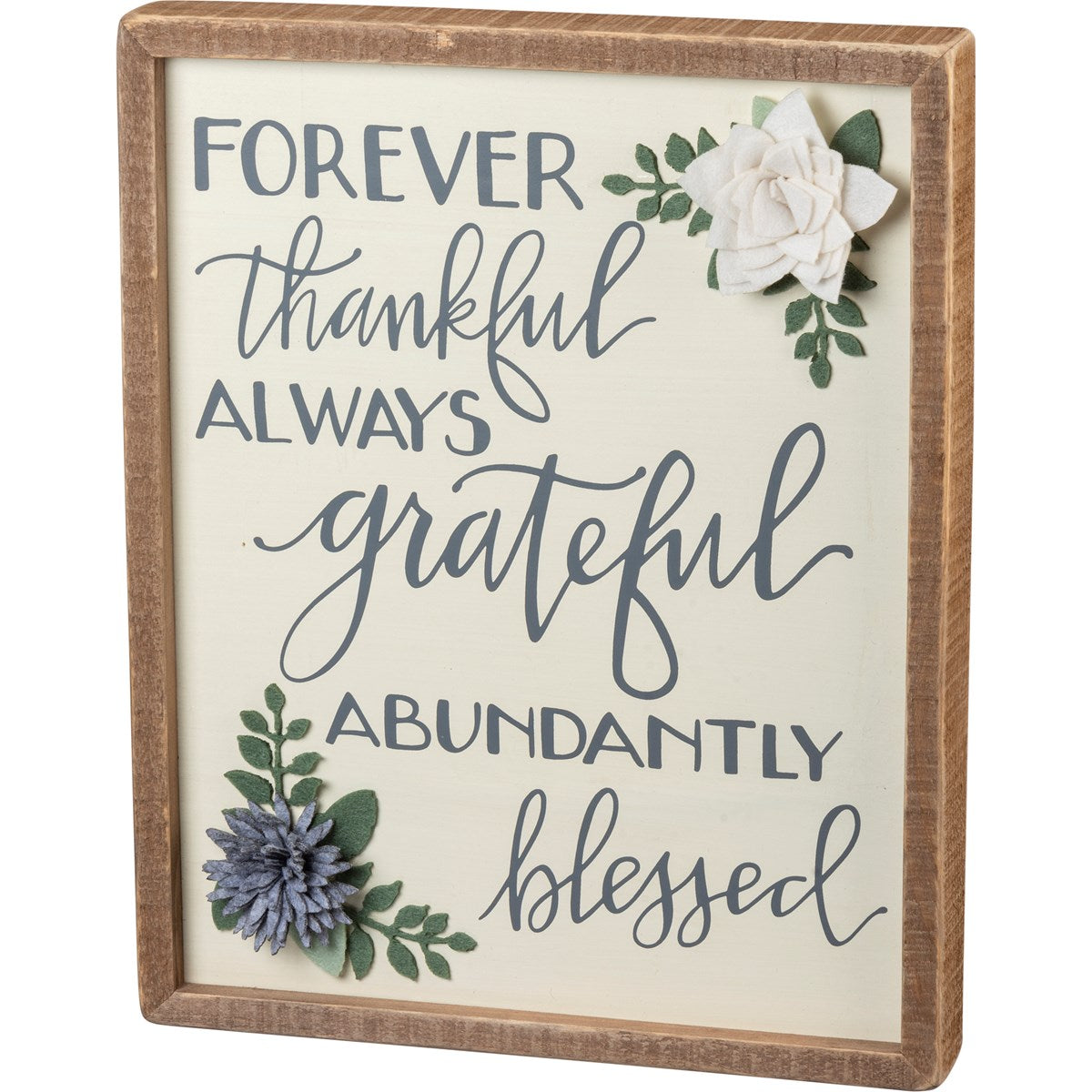 FOREVER THANKFUL SIGN