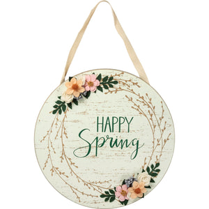 HAPPY SPRING WALL HANGER