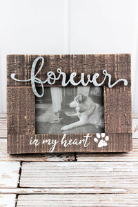 FOREVER IN MY HEART PET FRAME