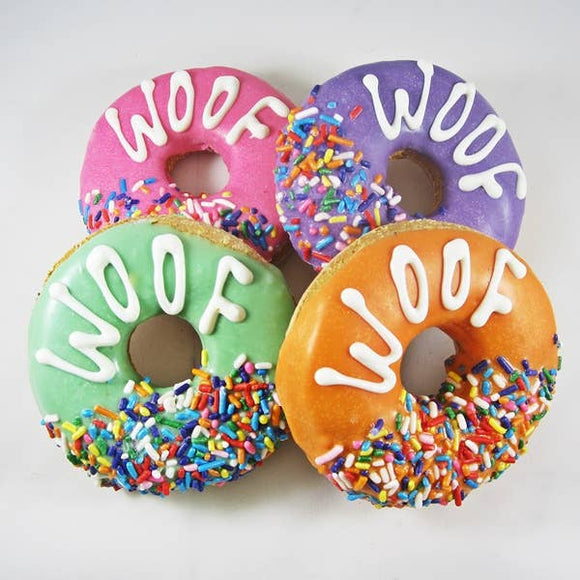 WOOF DONUT DOG TREAT