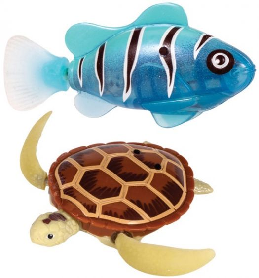 ROBO WATER TOY - FISH/TURTLE