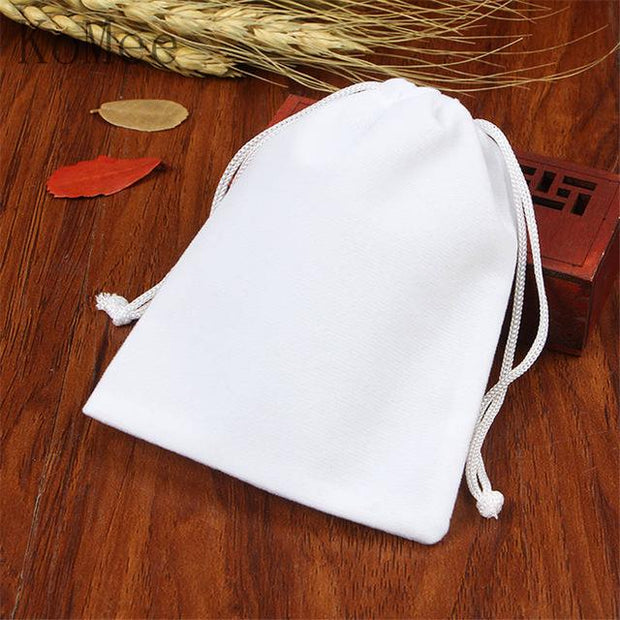 10pcs/lot Small Velvet Bag 5x7 7x9 9x12cm Candy Nuts Jewelry Packaging Bags Party Wedding Decoration Velvet Pouch Gift Bags