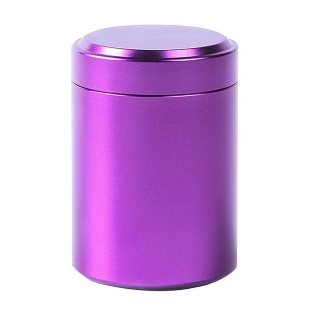 80ML Mini Metal Box jewelry Storage Box Aluminum Tea Can Small Travel Portable Container Small Jar Sugar Coffee Caddy Organizer