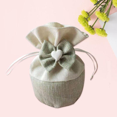 3pcs/pack Drawstring Pouch Thicken Cotton Canvas Candy Bag For Packaging Gift Wedding Party Christmas Gift Bags Jewelry Bag