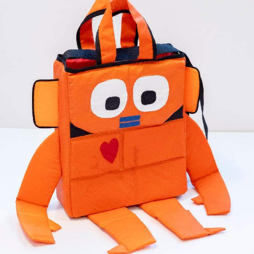 Robot Bag - Bas Kosters & Makers Unite - Giving Love and Meaning Front 1