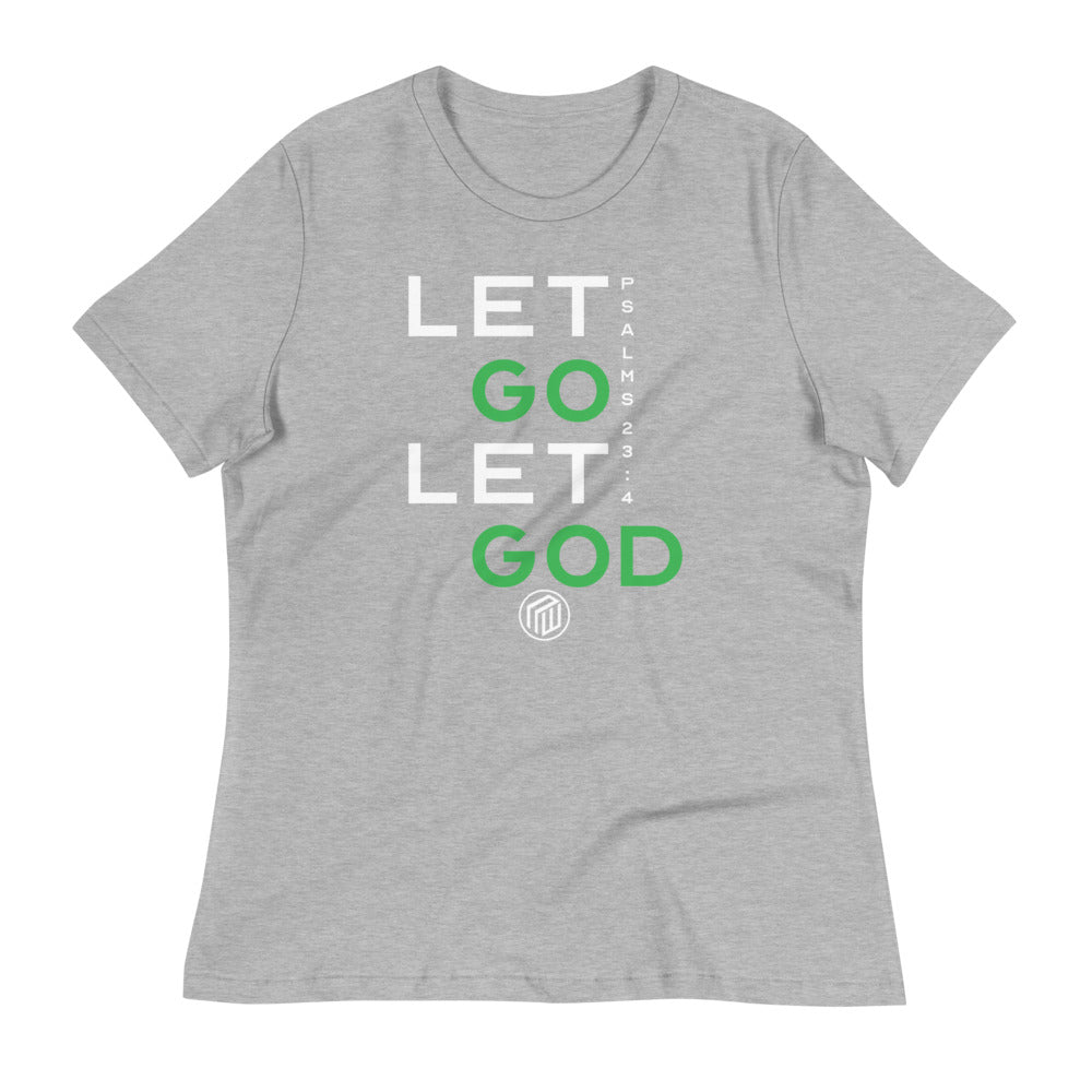 Let Go Let GOD Ladies' short sleeve t-shirt