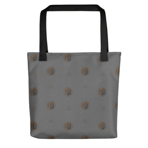 The Branded Tote-Grey