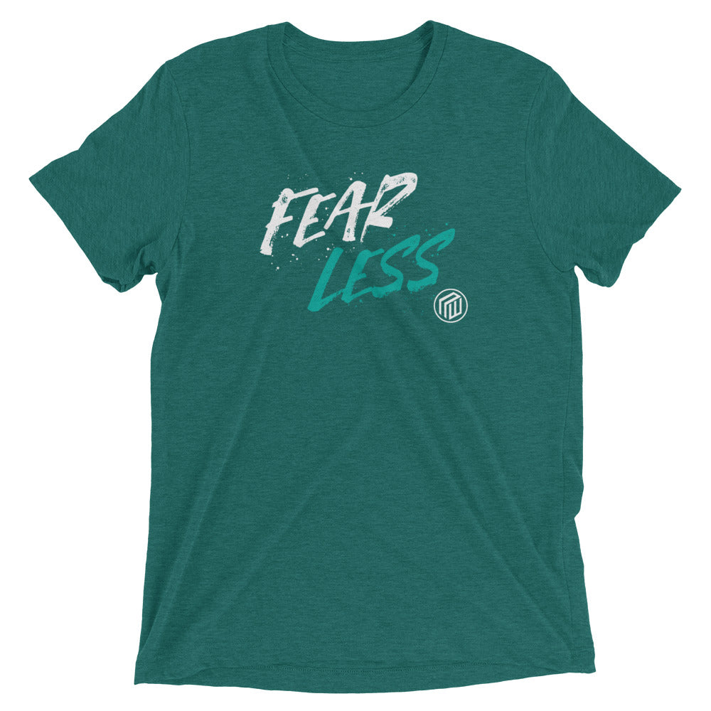 Fear Less  Men's Short Sleeve T-shirt