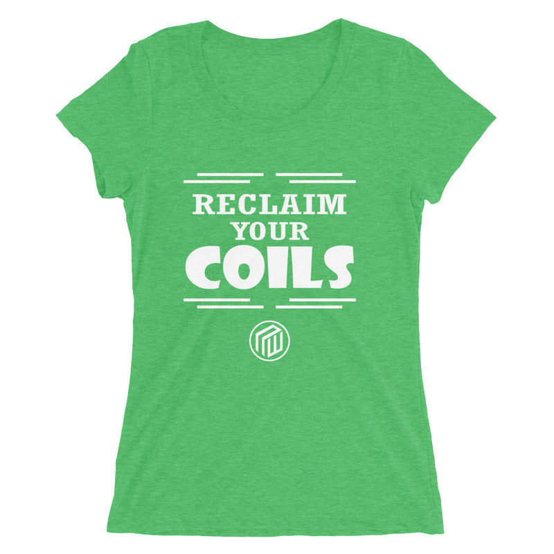Reclaim Your Coils Ladies' Short Sleeve T-shirt