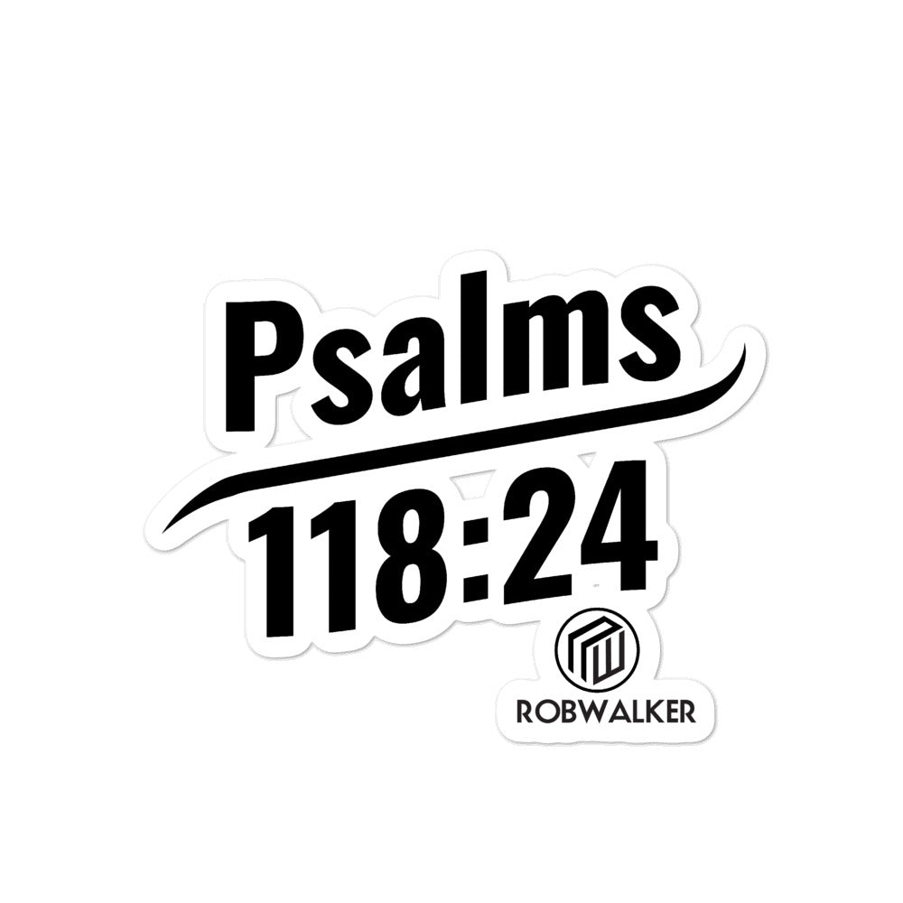 Psalms Bubble-free stickers
