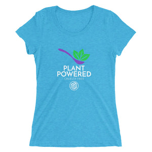 Plant Powered Ladies' short sleeve t-shirt