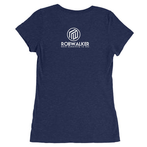 Plant =Powered Ladies' short sleeve t-shirt
