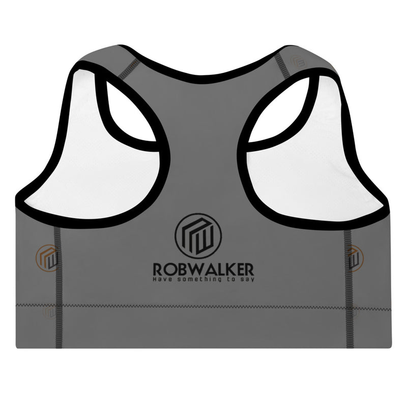 Branded Padded Sports Bra