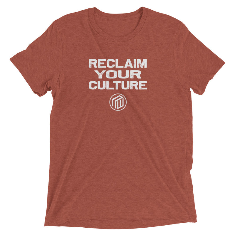 Reclaim Your Culture Short sleeve t-shirt