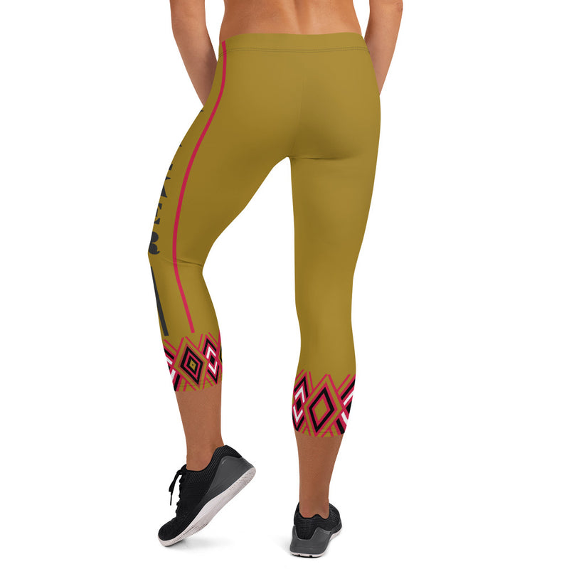 The Stella Capri Leggings