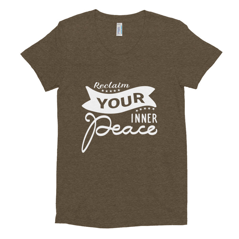 Reclaim Your Peace Women's Crew Neck T-shirt