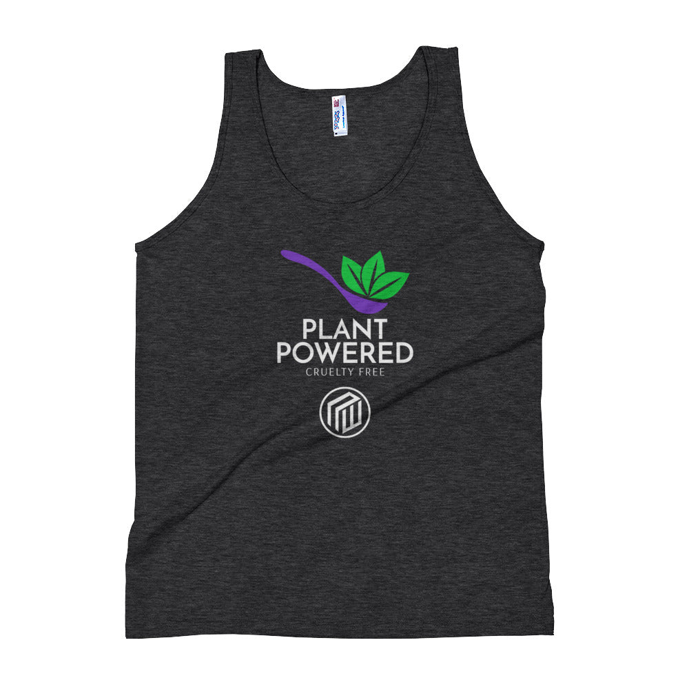 Plant powered Unisex Tank Top