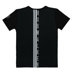 Branded with Grey Pin stripe Women's T-shirt
