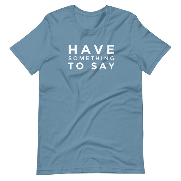 Slogan Short-Sleeve Unisex T-Shirt