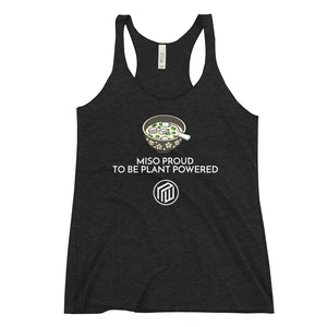 Miso Proud to be plant based Women's Racerback Tank