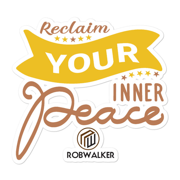 Inner Peace Bubble-free stickers