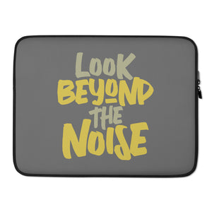 Beyond the Noise Laptop Sleeve
