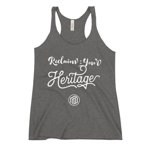 Reclaim Your Heritage Women's Racer-back Tank
