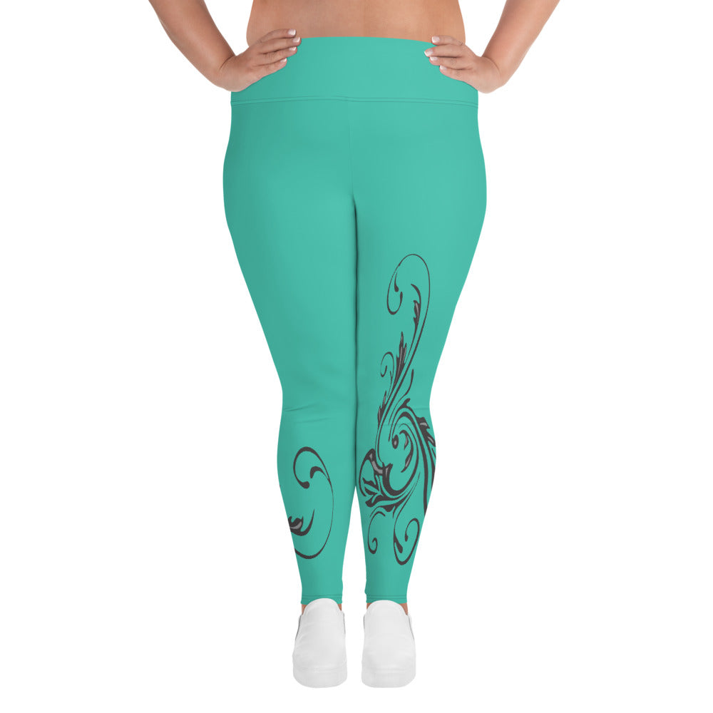 The Plus Size Tricia  Leggings