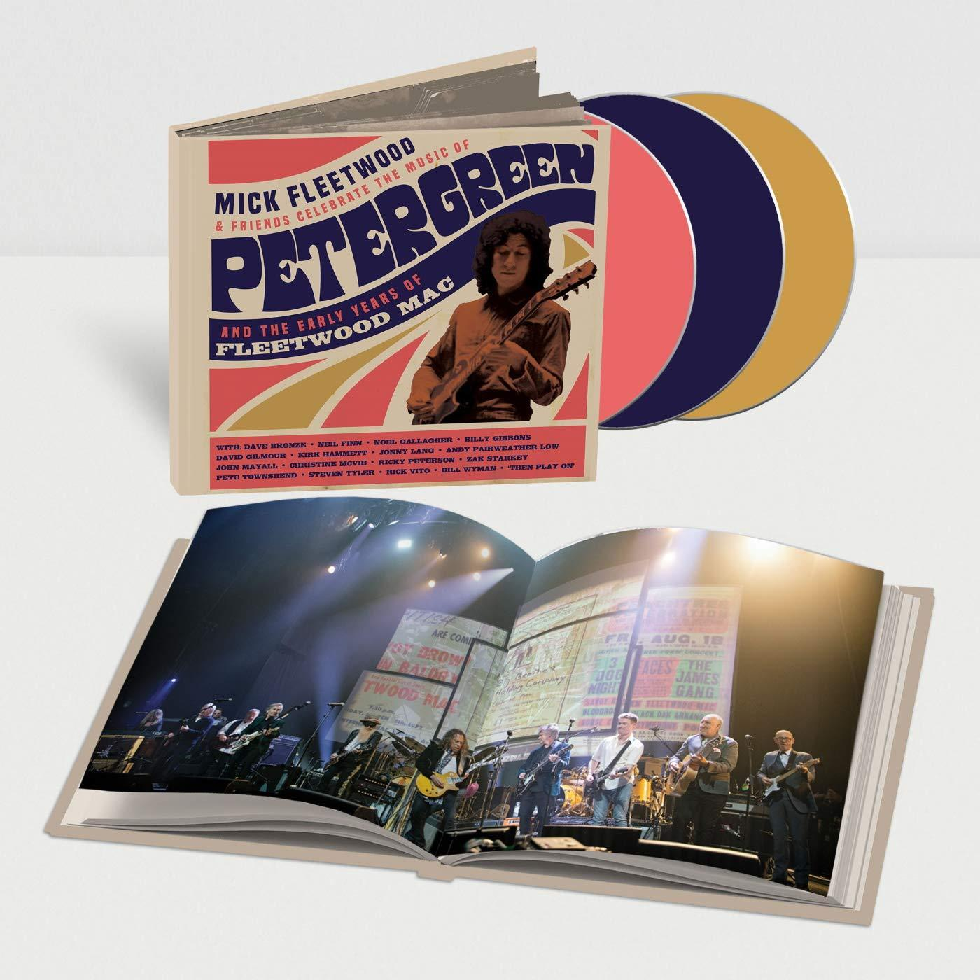 Mick Fleetwood & Friends Celebrate the Music of Peter Green And..:   - Mick Fleetwood & Friends [Deluxe CD]