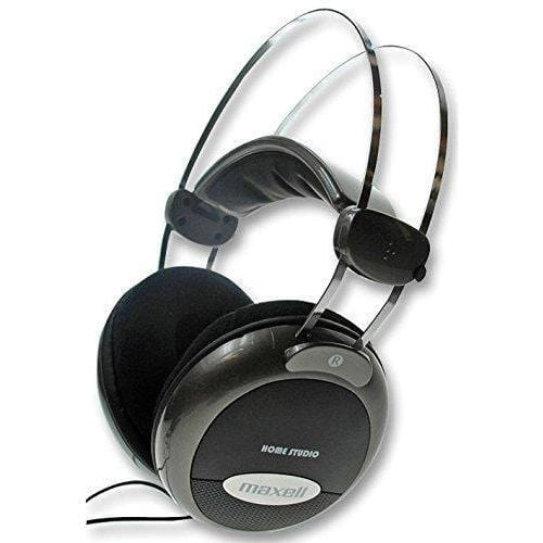 MAXELL HOME STUDIO HEADPHONES Black [Accessories]