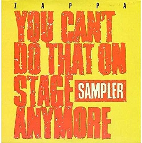 You Can't Do That on Stage - FRANK ZAPPA (RSD 2020) [Vinyl]