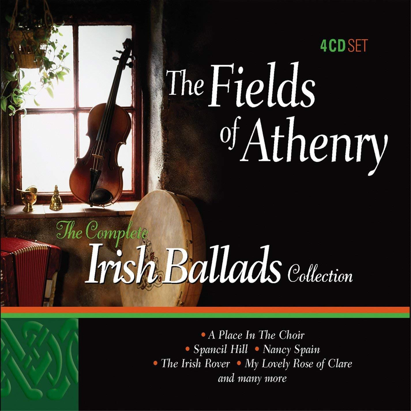 The Fields Of Athenry: The Complete Irish Ballads Collection [CD]