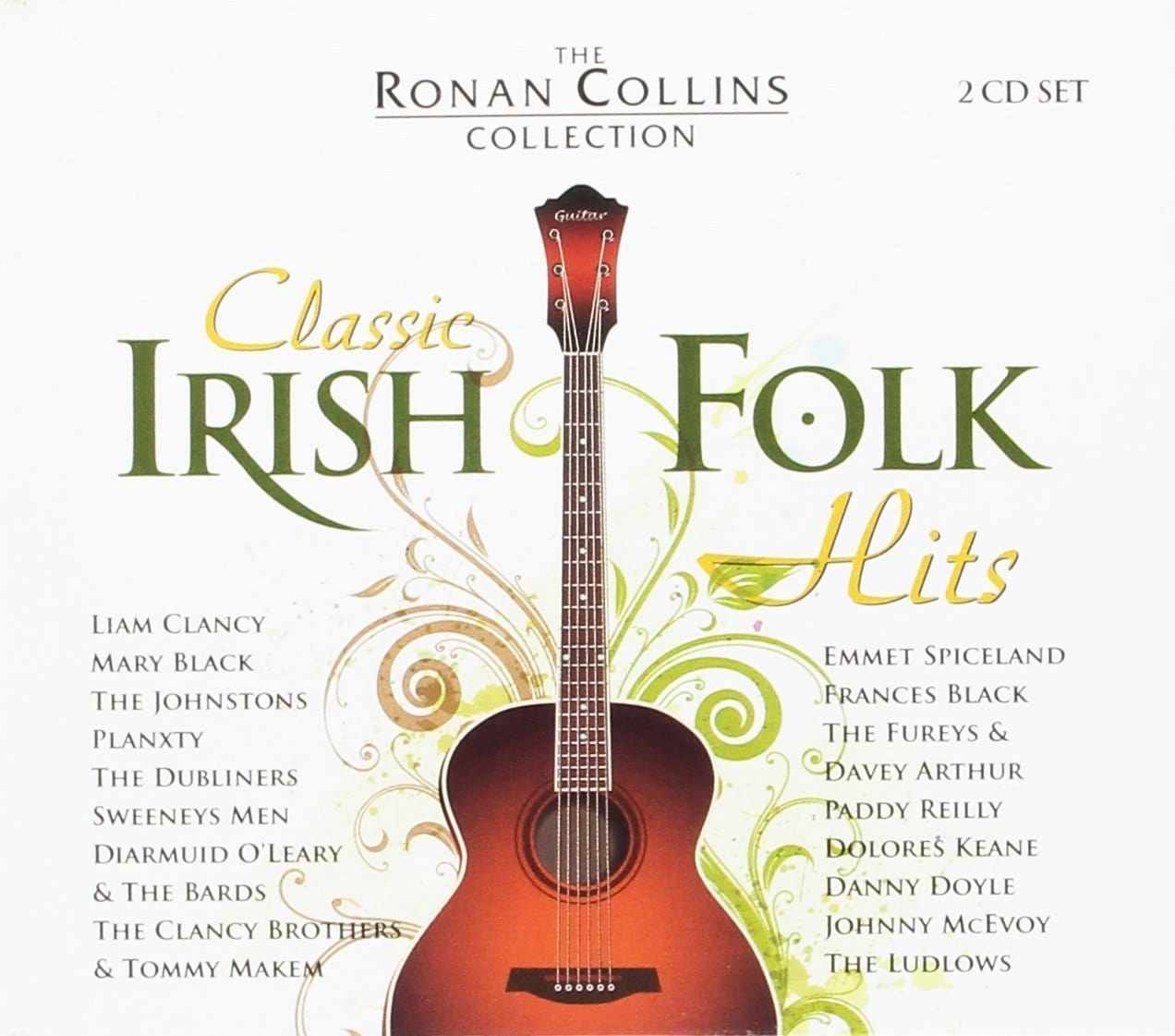 40 Classic Irish Folk Songs: Ronan Collins [CD]