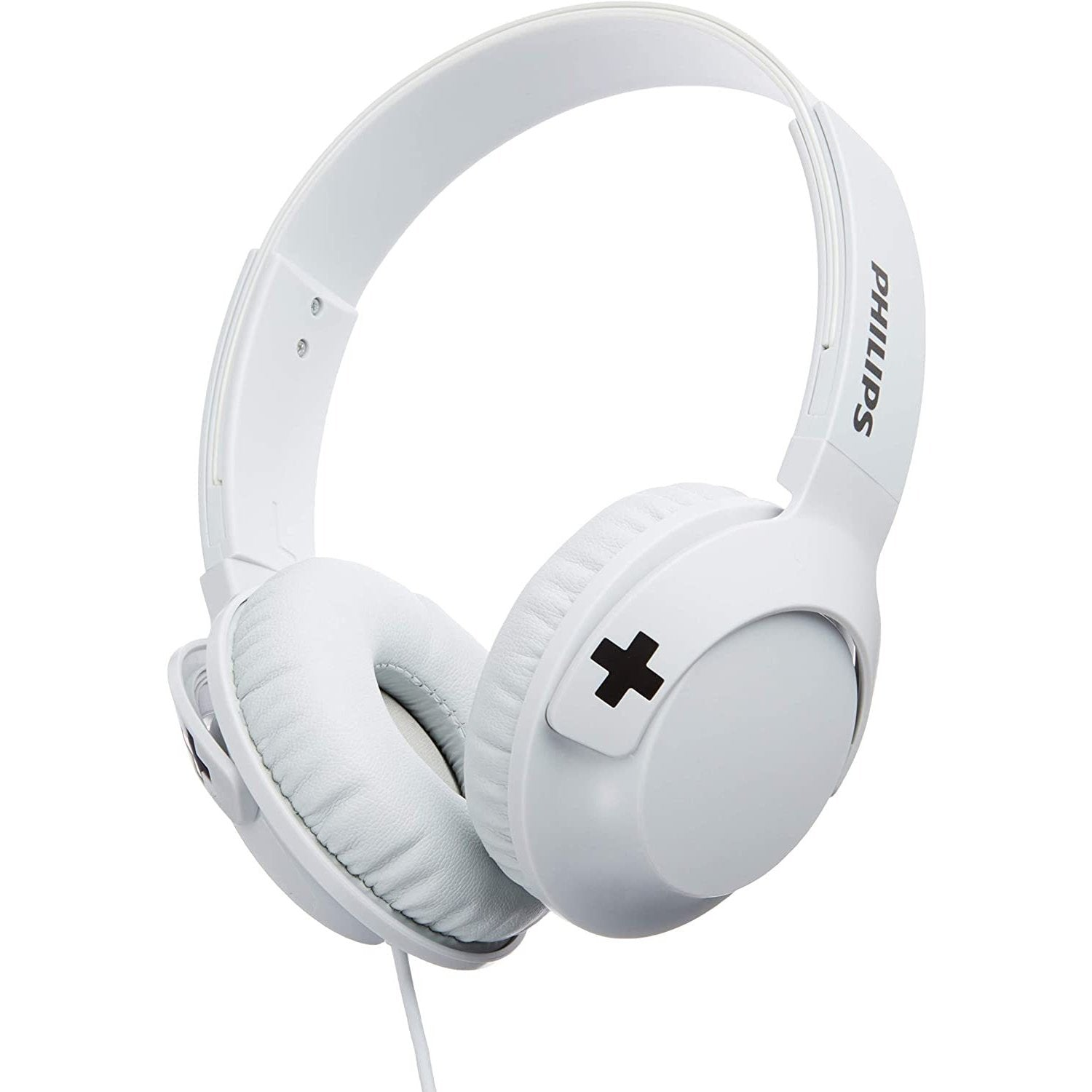 Philips SHL3075WT BASS+ Headphones - White [Accessories]