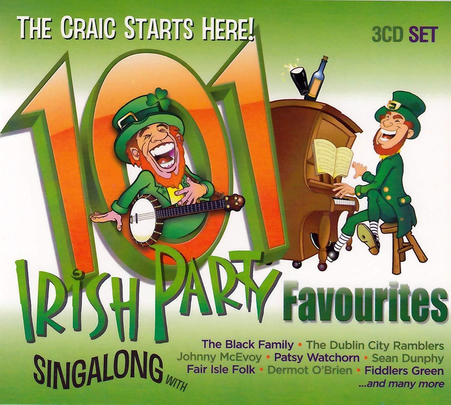 101 IRISH PARTY FAVOURITES [CD]