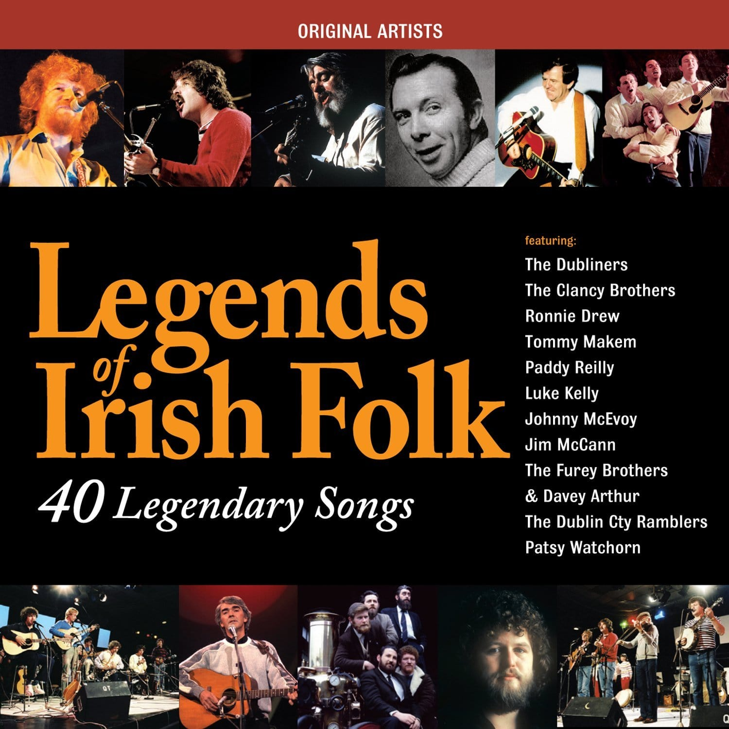 Legends Of Irish Folk: Various Artists [CD]
