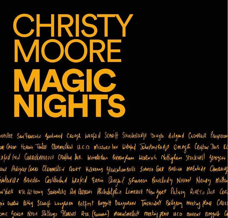 CHRISTY MOORE - MAGIC NIGHTS [Vinyl]
