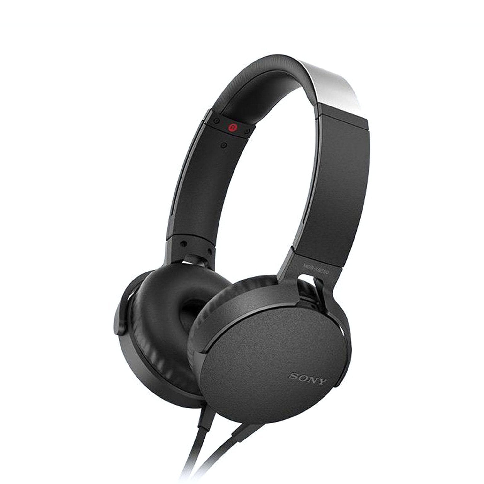 SONY SWIVEL FOLDING HEADPH BLACK [Accessories]