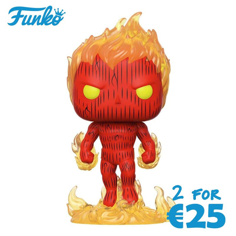 Funko Pop! Marvel: Fantastic Four - Human Torch [Toys]